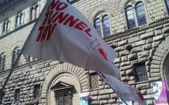 No Tav, a Firenze presidio contro arresti in Val di Susa