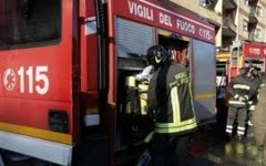 Firenze, a fuoco tre box auto. Fiamme alimentate dalla «lana» degli alberi