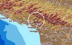 Terremoto, due scosse tra Massa e Lucca