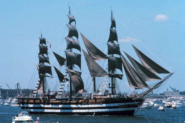 L'Amerigo Vespucci, il vanto della Marina militare italiana