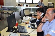 Centrale operativa Protezione Civile del Comune di Firenze