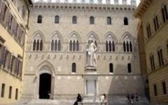 La sede di Rocca Salimbeni del Monte dei Paschi di Siena
