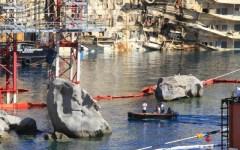 Concordia, i palombari della Marina verificano la sicurezza della nave