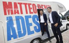 I camperisti scelgono Renzi come testimonial