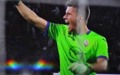 Fiorentina, l'imbattibilità di Neto finisce dopo 702 minuti