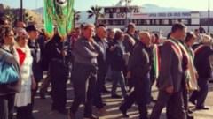 Taglio ai Tribunali, il corteo dei sindaci all'Elba
