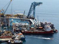 Il cantiere per la rimozione della Concordia
