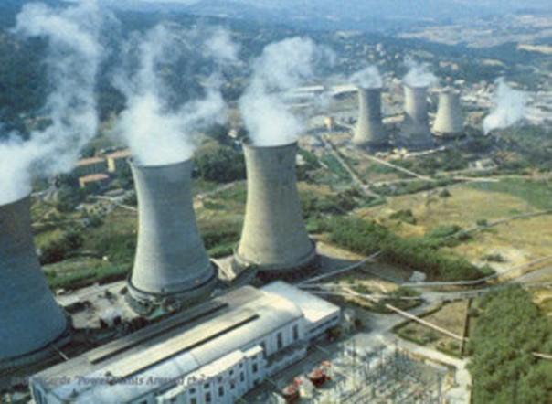 Centrale geotermica di Larderello (Pisa)
