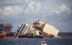 Rotazione della Costa Concordia, i primi aggiornamenti