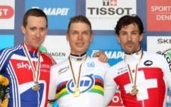 Mondiali ciclismo, l'oro nella crono professionisti al tedesco Martin