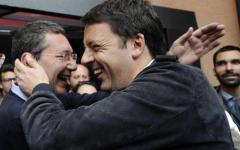 Matteo Renzi e Ignazio Marino