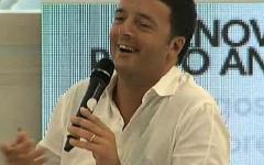 Renzi: «Se vinciamo vanno avanti i bravi non quelli con la tessera»