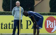 Nazionale: Balotelli, nonostante l'infortunio, seguirà gli azzurri a Copenaghen