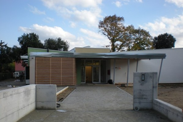 Centro infanzia zero-sei di San Lorenzo Montevarchi, l'entrata