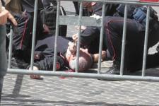 Il brigadiere Giuseppe Giangrande ferito durante la sparatoria a Montecitorio, era il 28 aprile 2013
