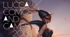 Il manifesto di Lucca Comics and Games 2013