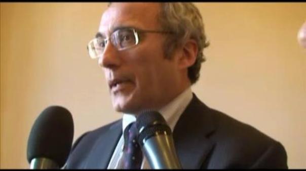 L'assessore regionale al Bilancio Vittorio Bugli