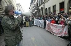 Lorenzo Bargellini, leader del movimento di lotta per la casa di Firenze