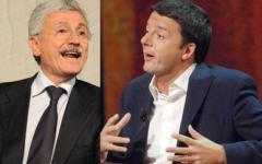 Pd, Renzi risponde a D'Alema: «Credo sia arrabbiato per Roma-Fiorentina...». Ma anche Cuperlo critica «Baffino»