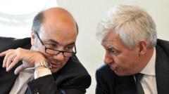 Mps, l'ad Fabrizio Viola ed il Presidente Alessandro Profumo