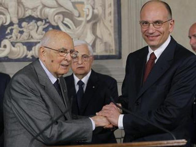 Napolitano-Letta a Firenze per l'Anci