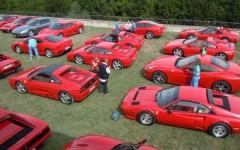 Arte e motori: raduno di Ferrari in Valdisieve