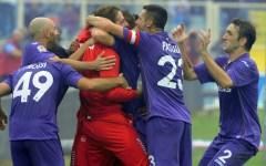 Tripudio Fiorentina: mille tifosi ad aspettare la squadra
