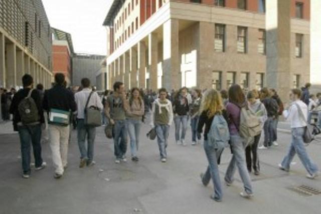Studenti del Polo universitario di Novoli