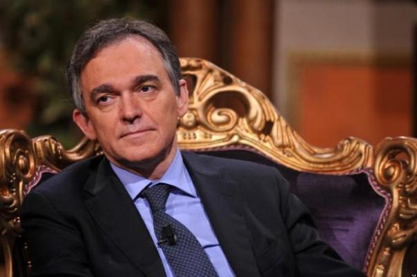 Il presidente   della Regione Toscana Enrico Rossi, uscente e ricandidato dal Pd