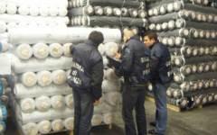 Fisco: fatture alterate, sequestro di tessuti e denuncia
