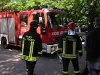 I vigili del fuoco hanno dichiarato inagibili tre appartamenti della villetta