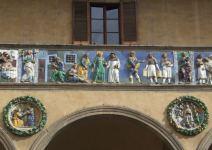 Il Fregio capolavoro dei Della Robbia al Ceppo di Pistoia