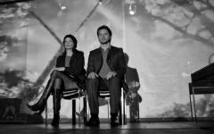 A Firenze «Il muro» con Ettore Bassi e Eleonora Ivone