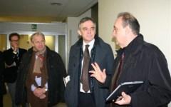 Lucca, il Presidente Rossi ha visitato l'ospedale Campo di Marte