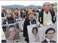Il ricordo delle 32 vittime della strage del 2009