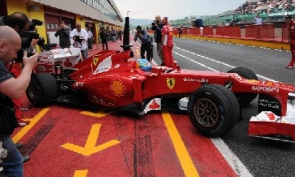 La Ferrari al Mugello