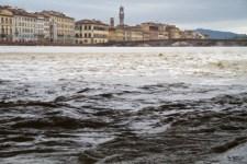 La piena dell'Arno a Firenze