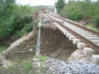 Linea Fs Siena-Buonconvento, i danni che erano stati provocati dal maltempo