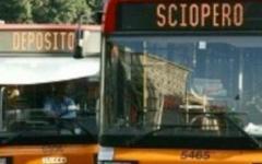 Toscana, bus in sciopero per 4 ore, domani martedì 20 maggio