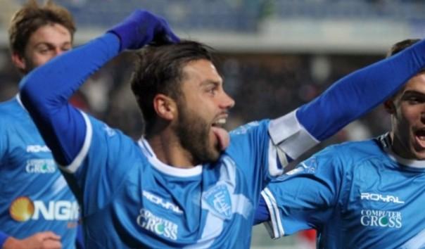 Tavano torna al gol e l'Empoli vince