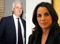 Alessandro Profumo e Antonella Mansi