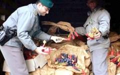 Botti, a Prato sequestrati oltre 500 kg