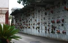 Foto d'archivio di un cimitero