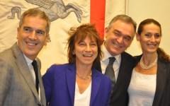 Gianna Nannini: «Un Palio che dobbiamo vincere tutti» (Audio)