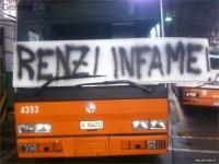 Gli autisti ritengono il sindaco Renzi il principale responsabile della privatizzazione Ataf