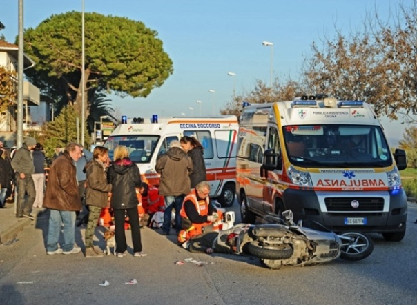 Grave incidente stradale a Cecina