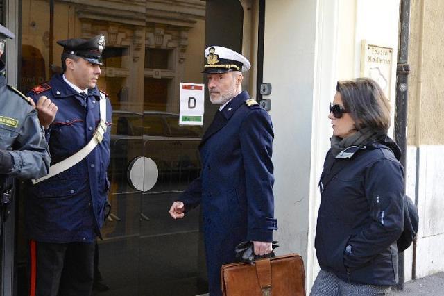 Grosseto, testimonia il comandante De Falco
