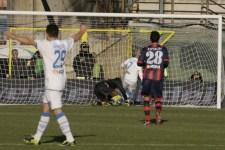 Il gol di Maccarone dell'Empoli a Crotone