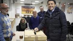 Il voto di Renzi