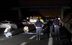Lastra a Signa: auto si ribalta, 4 giovani feriti